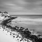 Snowy Hokkaido Coast by Heath Carney
