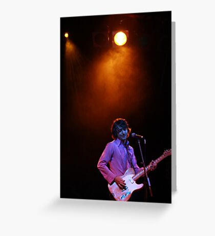 Jak Housden / The Whitlams Greeting Card