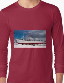 Up On Stilts For Winter Long Sleeve T-Shirt