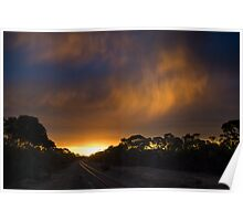 Virga Sunset Poster
