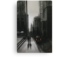 Towards Empire State Canvas Print
