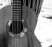 Bongo and Guitar by Laura McNamara