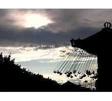Swings in Paris Photographic Print