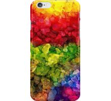 Rainbow dye ice fade iPhone Case/Skin