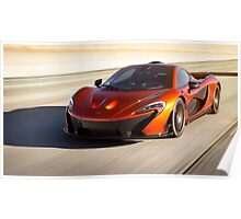 McLaren P1 Roller Poster