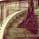 The golden stairway by Nour Kasem