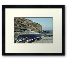 Currachs, Causeway, Co. Kerry, Ireland. Framed Print