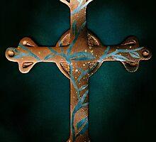 Copper Cross by Demea