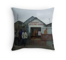 Would you like your meat from here? Throw Pillow