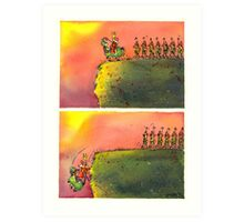 To March On (field version)   Art Print