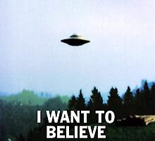 I want to believe by lostinepal