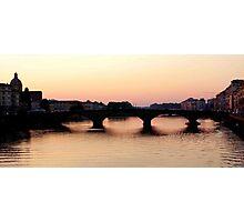 Arno Crossing Photographic Print