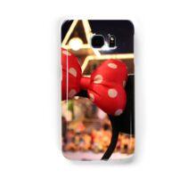 Minnie Mouse Ears on Mainstreet Samsung Galaxy Case/Skin