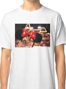 Minnie Mouse Ears on Mainstreet Classic T-Shirt