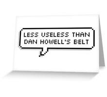dan howell Greeting Card