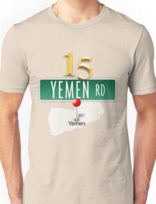 15 Yemen Road, Yemen T-Shirt