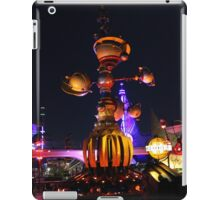 Tomorrowland Astro Orbitor at Night iPad Case/Skin
