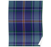 00464 Blue Ridge Highlands Heritage District Tartan  Poster