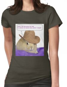 To cute Womens Fitted T-Shirt