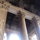 ROME!!! - Outside Pantheon Columns  by Daniela Cifarelli
