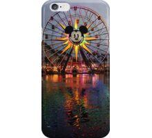 Mickey's Fun Wheel at Sunset iPhone Case/Skin