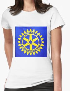Rotary International. Womens Fitted T-Shirt