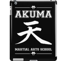 Akuma Martial Arts School iPad Case/Skin