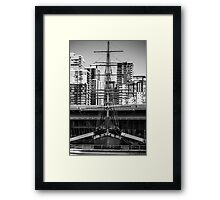Tall Sails Framed Print