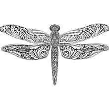 Hand drawing - Dragonfly by MaShusik