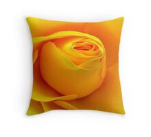 Yellow Folds .. Throw Pillow