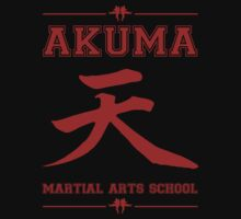 Akuma Martial Arts School One Piece - Short Sleeve