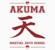 Akuma Martial Arts School Kids Clothes