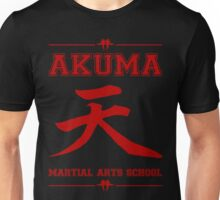 Akuma Martial Arts School Unisex T-Shirt