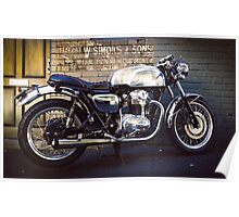 Kawasaki W650 Poster