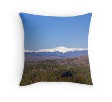 Mont Washington Throw Pillow