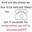 girls are like phones by 1chick1