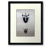 1956 Ford Hood Ornament Framed Print