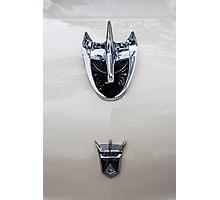 1956 Ford Hood Ornament Photographic Print