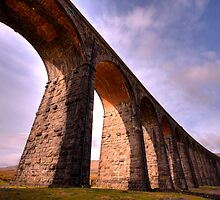 Ribblehead Viaduct, Yorkshire by Craig S. Sparks