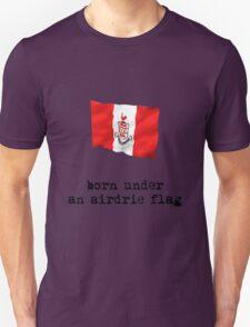 Born Under an Airdrie Flag T-Shirt
