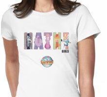 Math Girls Womens Fitted T-Shirt