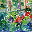 Rainforest Tamborine  by Virginia McGowan