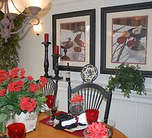 French Country Dining Room by Marjorie Wallace