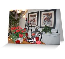 French Country Dining Room Greeting Card