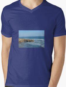 CROCODILE ROCK Mens V-Neck T-Shirt