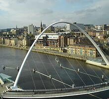 newcastle millenium bridge by korniliak