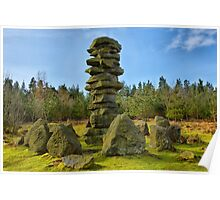 Druids Temple Stone Tower Poster