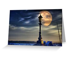 Moon Shadow Greeting Card