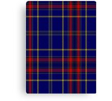 00458 Blue Bough from Orkney Tartan  Canvas Print