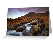 Cascading Down Greeting Card